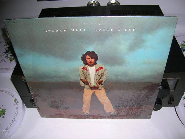 Graham Nash-Earth - & Sky-Sealed LP- emi records