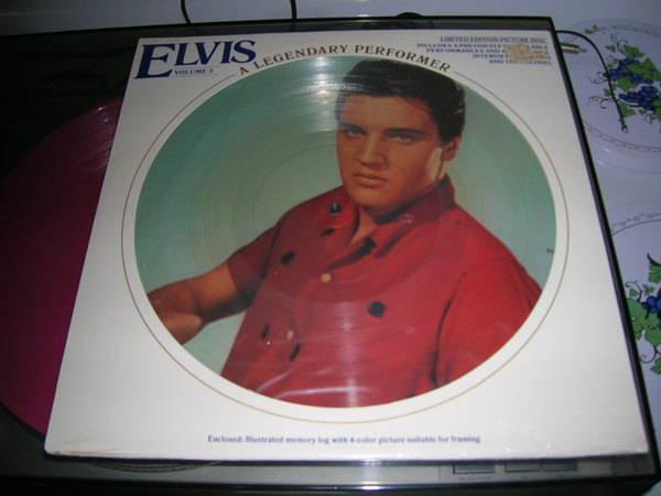 Elvis Presley- A - Legendary Performer- sealed picture disc-1978