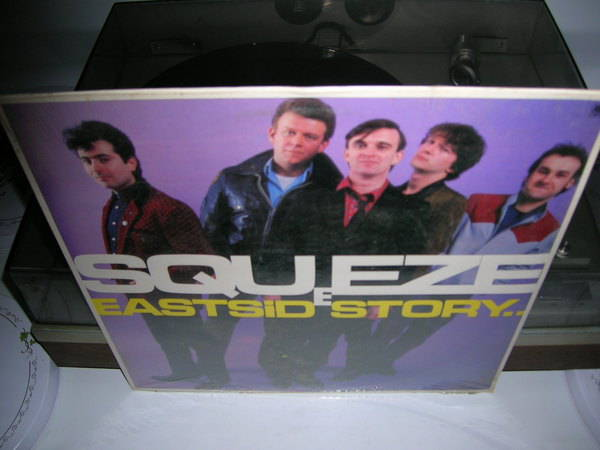 Squeeze - East Side - Story - Sealed LP 1981 a&m records