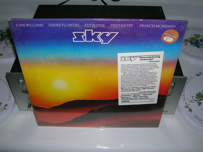 Sky-Sealed Obscure 1980 Jazz LP- - Featuring John Williams, Herbie Flowers, Kevin Peek, Tristan Fry & More