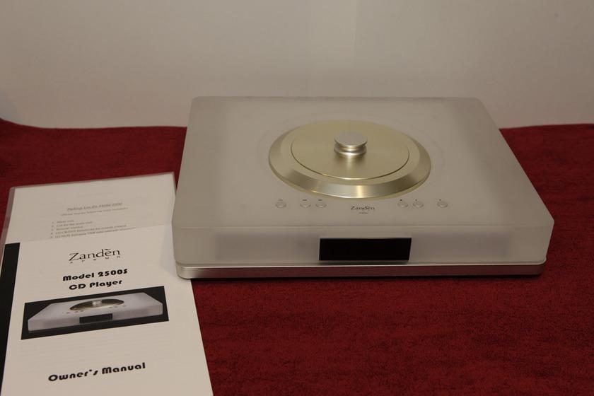 Zanden 2500s tube cd player analog sounding digital