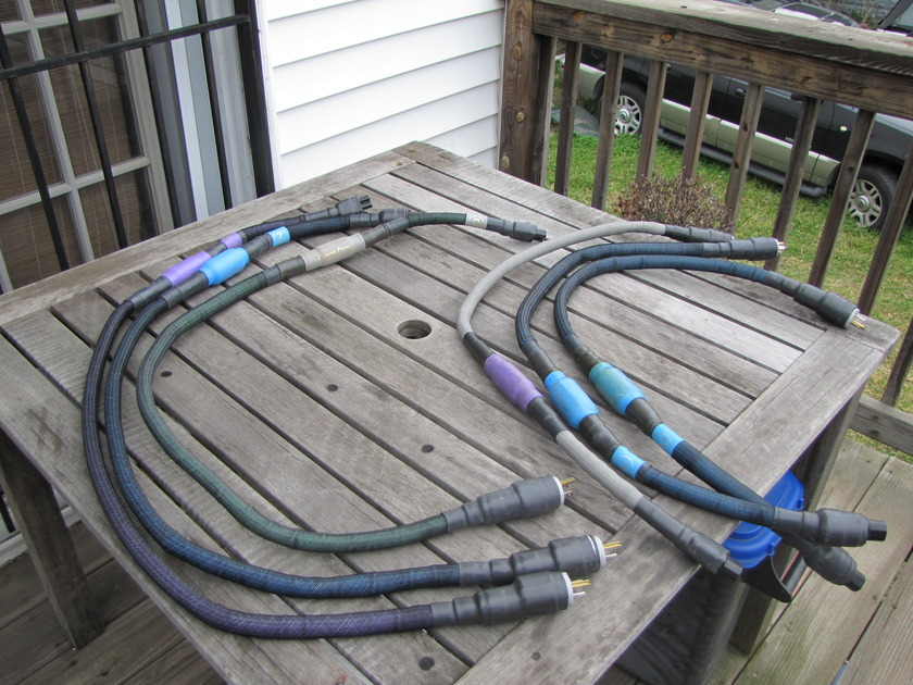 Custom Power Cord Company Top Gun Special Series [2] 120V / I have an assortment of cables, this auction is for a 4 foot cord