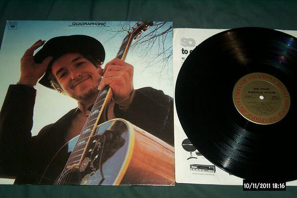 Bob dylan - Nashville Skyline sq quadraphonic lp nm
