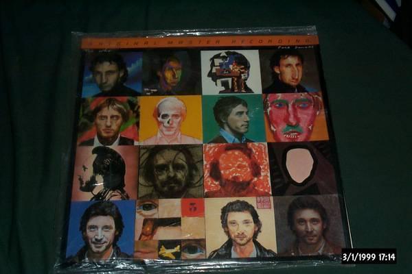 The who - Face Dances mfsl audiophile vinyl japan