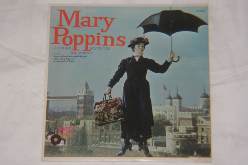 Happy Time Records - Mary Poppins & Other Favorites Children's HT-1034