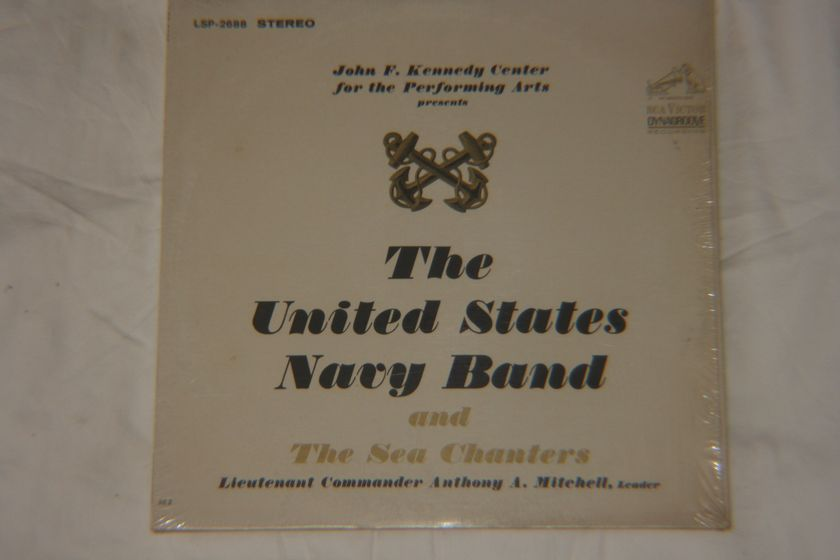 The United States Navy Band - The Sea Chanters Stereo LSP-2688