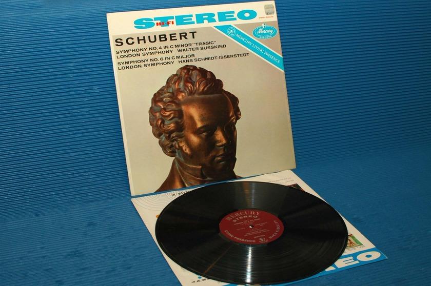 "SCHUBERT/Susskind -  - ""Tragic' Symphony"" -  Mercury Living Presence 1959 Early pressing"