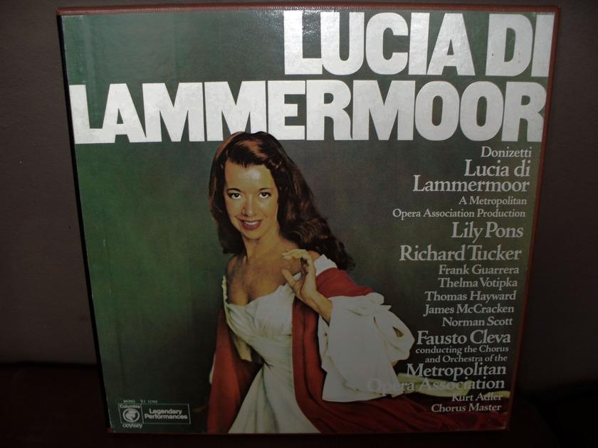 Donizetti - Lucia di Lammermoor Fausto Cleva cond. (Mono)