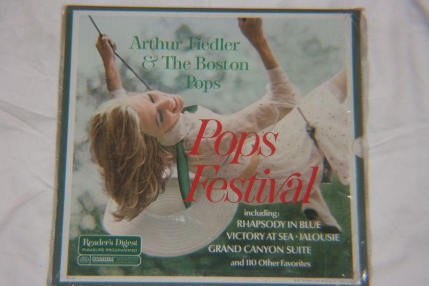 Arthur Fielder & The Boston Pops - Pops Festival RDA 48-A