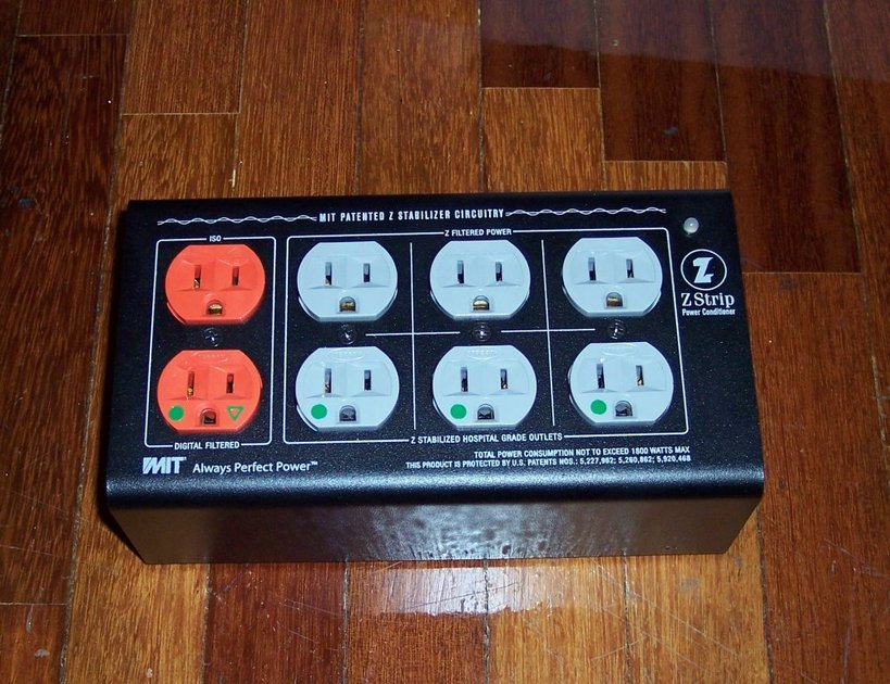 MIT Z Strip 8 Outlets Surge and Spike Protection Say Goodbye to Dirty Power