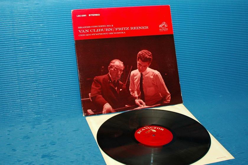 "BRAHMS/Reiner/Cliburn -  - ""Piano Concerto No.2"" -  RCA 'White Dog' 1964"