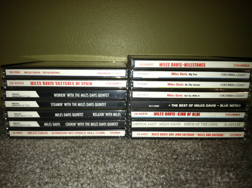 Miles Davis - Lot of 17 CDs Free shipping and no Paypal fees
