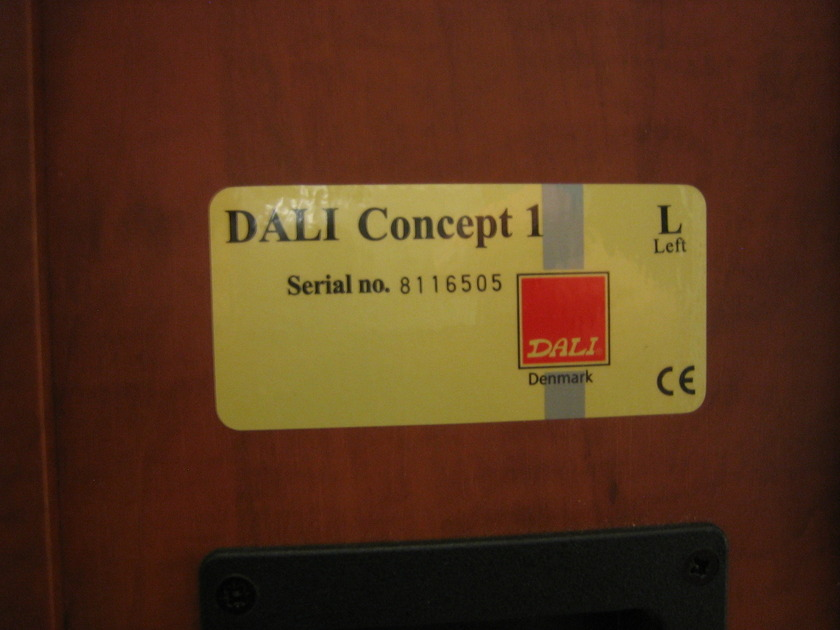 Dali Conecpt 1 speakers Concept 1