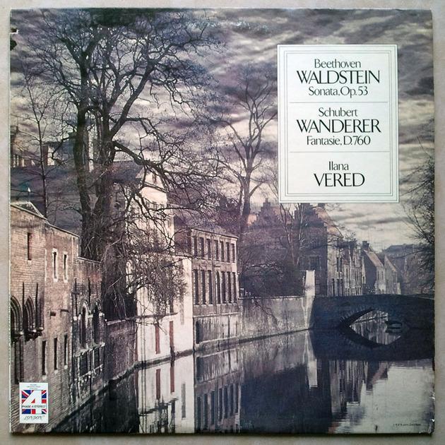 London Phase 4/Ilana Vered/Beethoven - Waldstein & Schubert Wanderer / NM