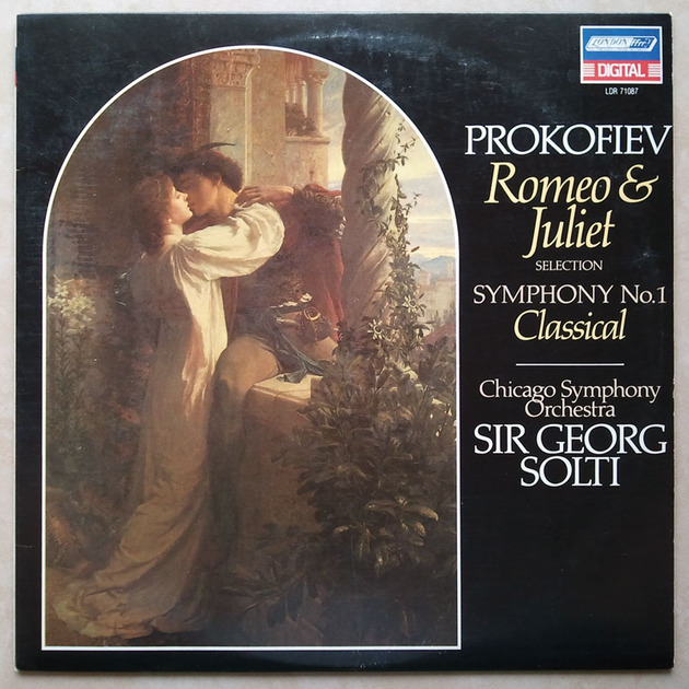 "London Digital/Solti/Prokofiev - Romeo & Juliet, Symphony No.1 ""Classical"" / NM"