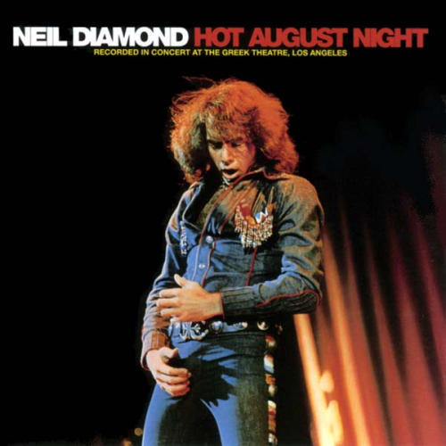 Neil Diamond - - Hot August Night / 2-LP set / EX