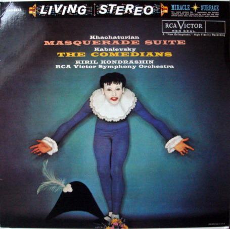 ★Audiophile 180g★ RCA-Classic Records /  - KONDRASHIN, Khachaturian Masquerade, TAS LP, MINT!