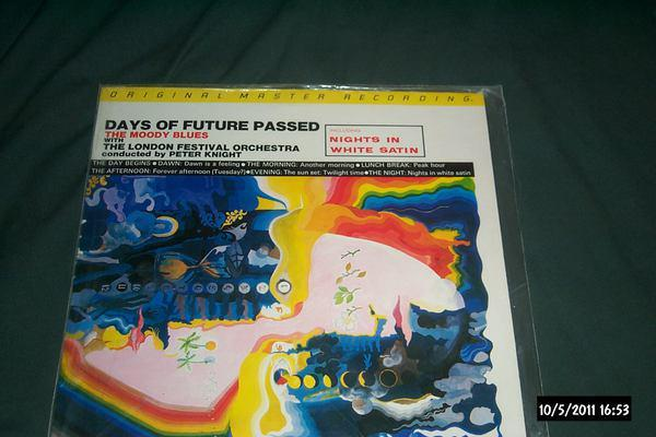 Moody Blues - Days Of Future Past mfsl audiophile lp nm