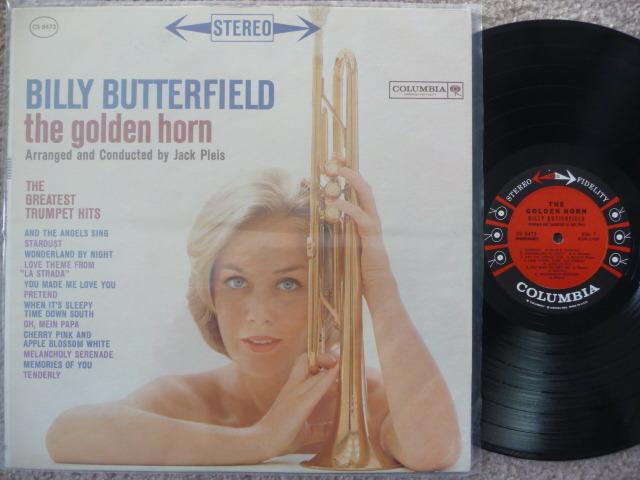 BILLY BUTTERFIELD  - THE GOLDEN HORN EXCEL LP COLUMBIA 6 EYES