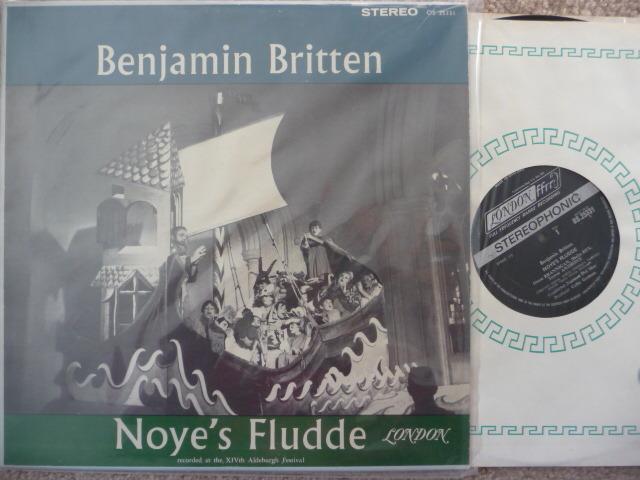 NOYE'S FLUDDE - LONDON  EXCELLENT COND