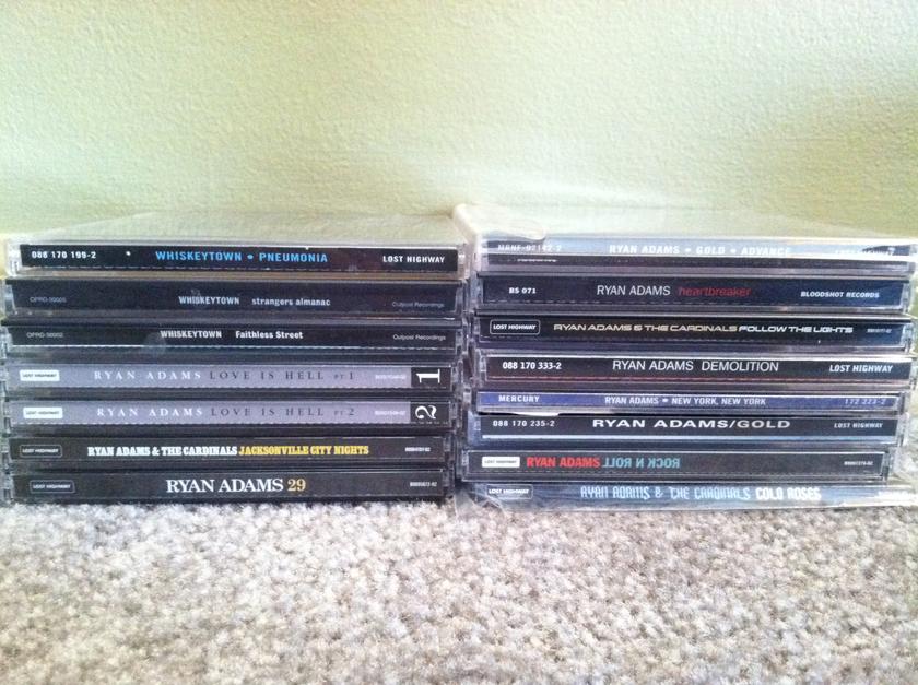 Ryan Adams - Lot of 20 CDs and 1 DVD Free Shipping & Free Paypal