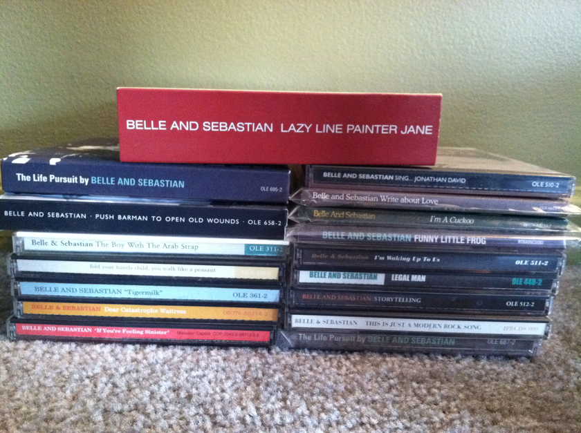 Belle & Sebastian - Lot of 20 CDs and 1 DVD Free Shipping and Free Paypal