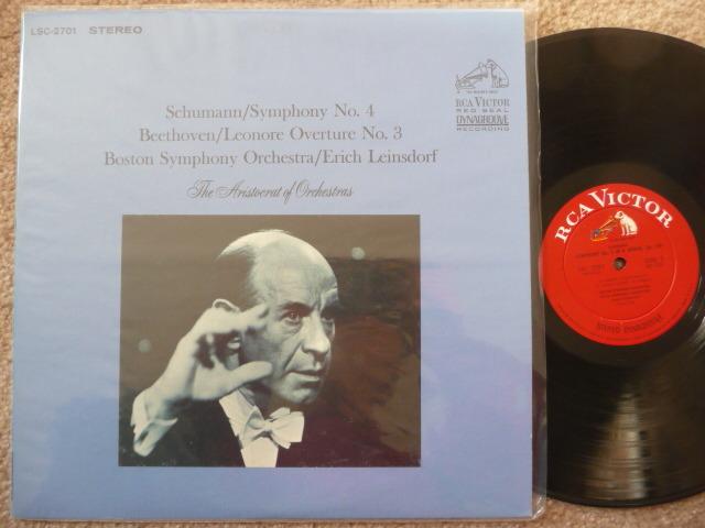 SCHUMANN  - SYMPHONY 4 RCA LP