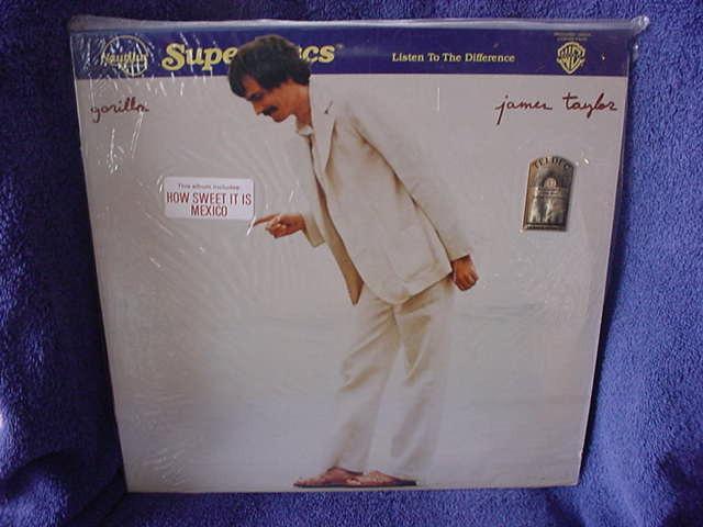 James Taylor  - Gorilla  Nautilus Superdisc NR-29