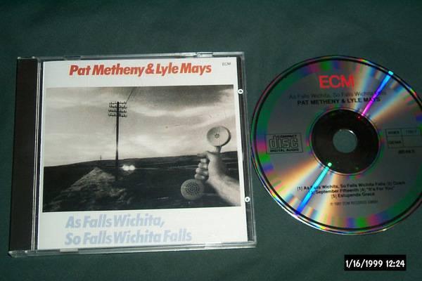 Pat Metheny - As Falls Wichita ecm germany 1st issue cd