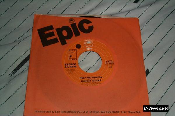 Johnny Rivers - Help Me Rhonda with brian wilson 45 nm