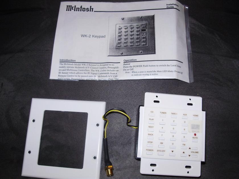 McIntosh WK-2 White Keypad
