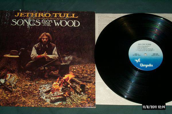Jethro tull - Songs From The Wood lp nm