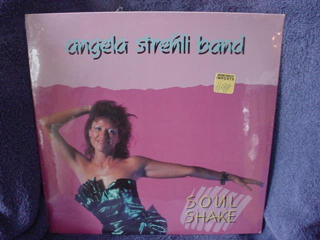 Angela Strehli Band  - Soul Shake  Antones ANT-0006 1987 Sealed USA release
