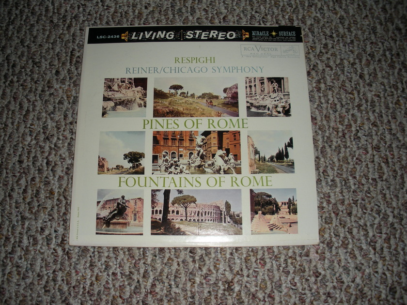* NM RARE * REINER PINES OF ROME FOUNTAINS OF ROME LIVING STEREO - LIVING STEREO SHADED  DOG LSC 2436