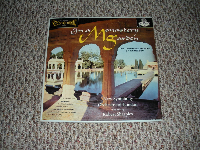 * NM RARE * IN A MONASTERY  - GARDEN FFSS LONDON  BLUEBACK PS 186