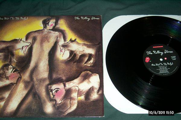 Rolling Stones - One Hit To The body 12 inch ep nm