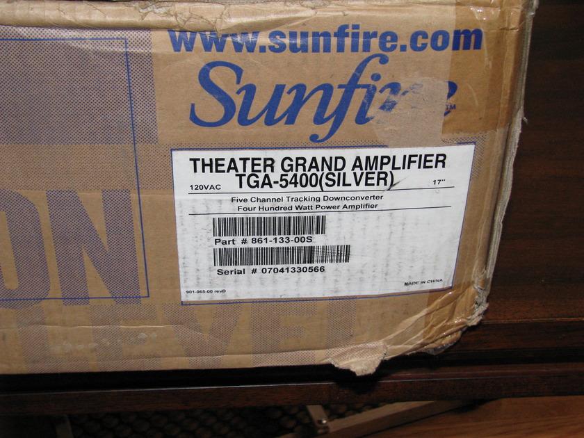 Sunfire TGA 5400 Mint 5 channel amplifier