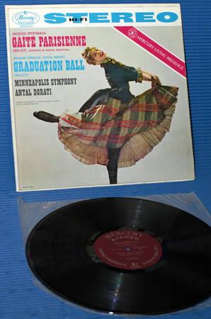 "OFFENBACH/Dorati - - ""Gaite Parisienne"" - Mercury Living Presence 1958 early pressing"