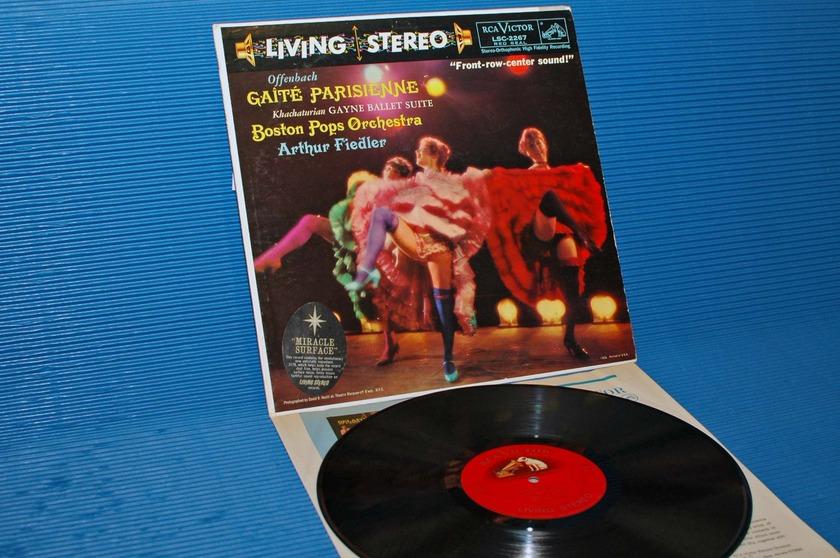 "OFFENBACH/Fiedler -  - ""Gaite Parisienne"" -  RCA 'Shaded Dog' 1959"