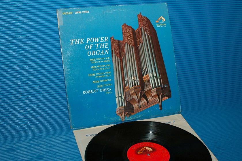 "ROBERT OWEN -  - ""The Power of the Organ"" -  RCA 'Shaded Dog' 1963 rare!"