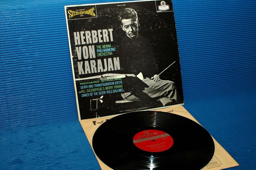 "STRAUSS/Von Karajan -  - ""Death & Transfiguration"" - London 'Blue Back' 1963"