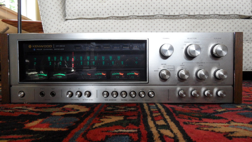 Kenwood KR-9940 Quadraphonic Receiver