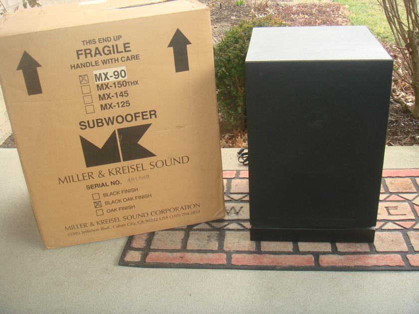 M&K MX-90 Powered Subwoofer