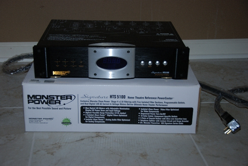Monster Cable  Signature 5100 Power Conditioner