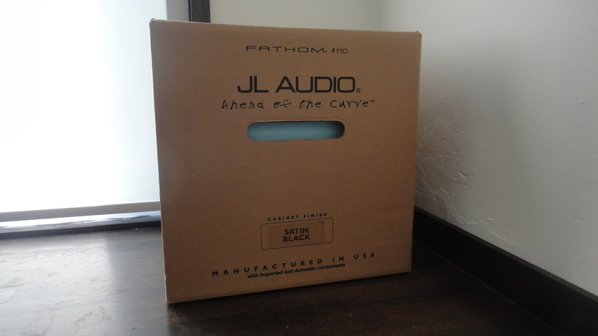 JL Audio F110 Satin Never opened