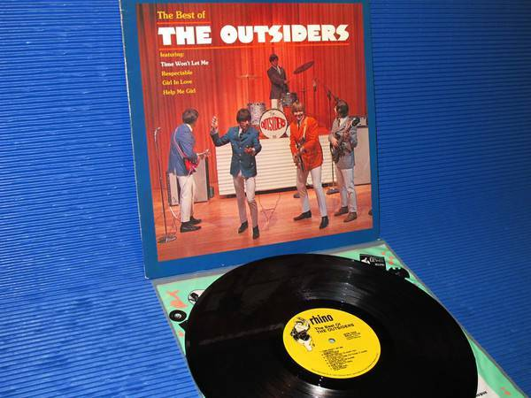 "THE OUTSIDERS -  - ""The best of the Outsiders"" -  Rhino 1986"