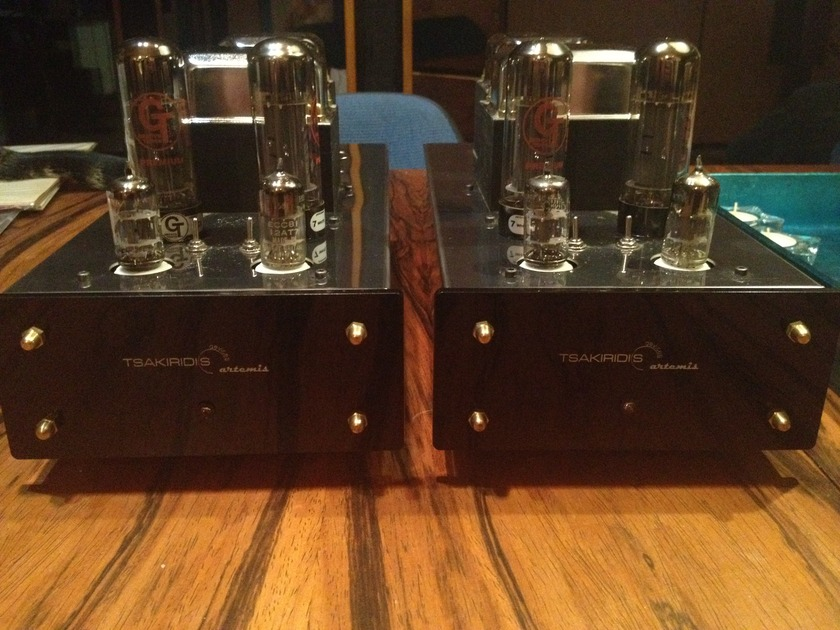 Tsakiridis Artemis Plus Monoblock Power Amplifiers Amazing!