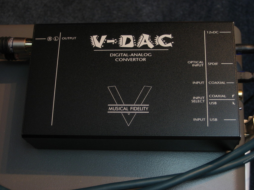 Musical Fidelity V-DAC  MkI  w Pyramid Power Supply - Gently Used