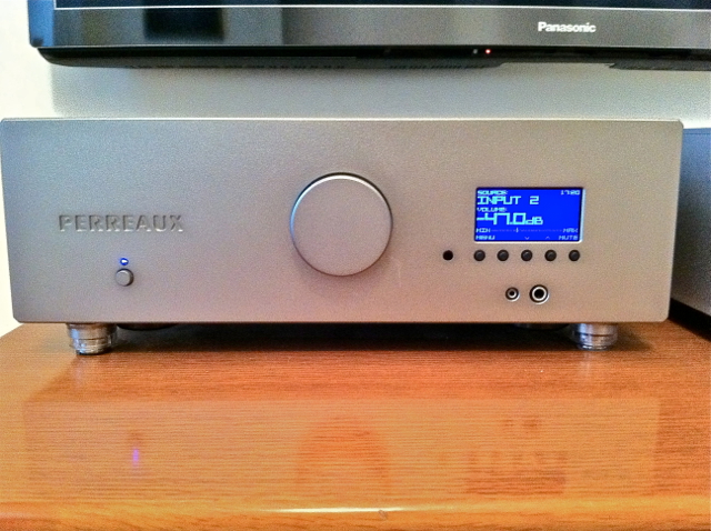 PERREAUX  eloquence 250i amplifier with DAC 230v - EUROPE