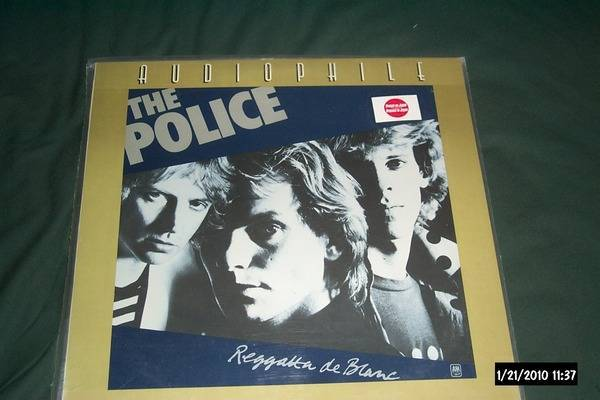 The police - A & M Audiophile Lp series regatta de blanc japan